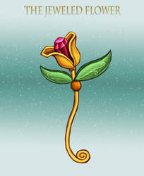 The Jeweled Flower by Louisetheanimator