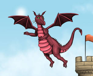 Dragon - Shrek by Louisetheanimator
