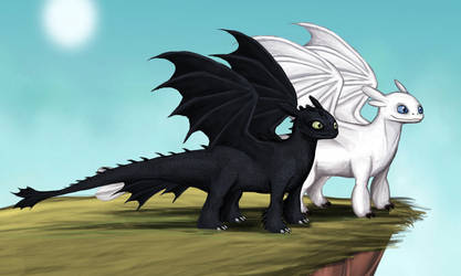 How to Train Your Dragon Dynamic Duo by Louisetheanimator