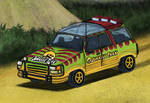 Jurassic Park Tour Jeep by Louisetheanimator
