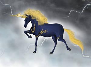 Thunder Unicorn in Storm