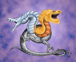 Frost and Fire Dragon