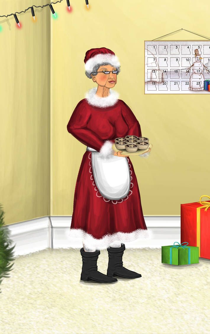 Mrs Claus by Louisetheanimator