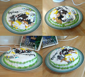 Equine Characters Cake