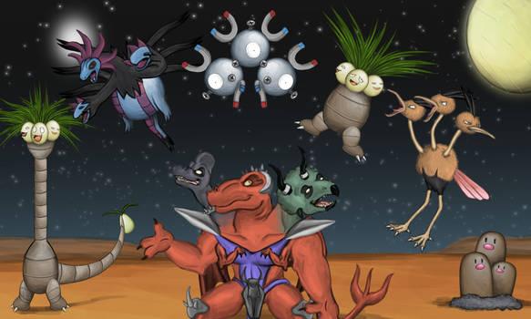 Trinosaur's Pokemon Team
