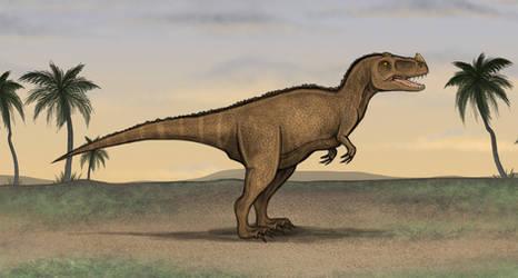 Ceratosaurus by Louisetheanimator