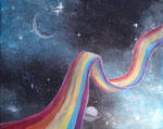 Rainbow Pathway in Space 3