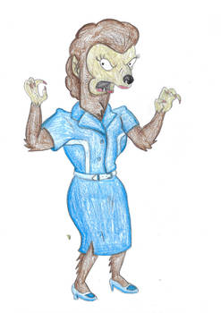 She-Werewolf - The Simpsons