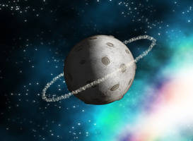 Small Ringed Moon