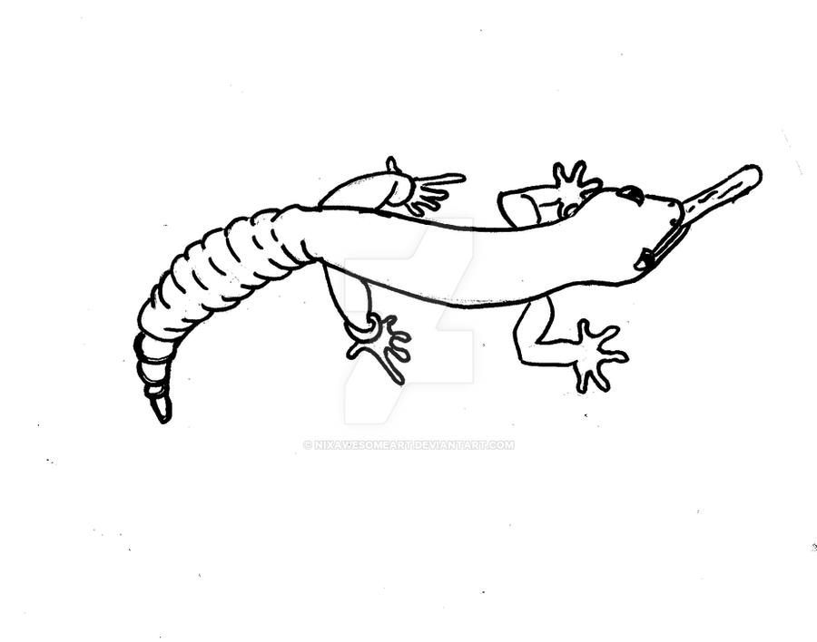 Leopard Gecko coloring page by NIXawesomeART on DeviantArt
