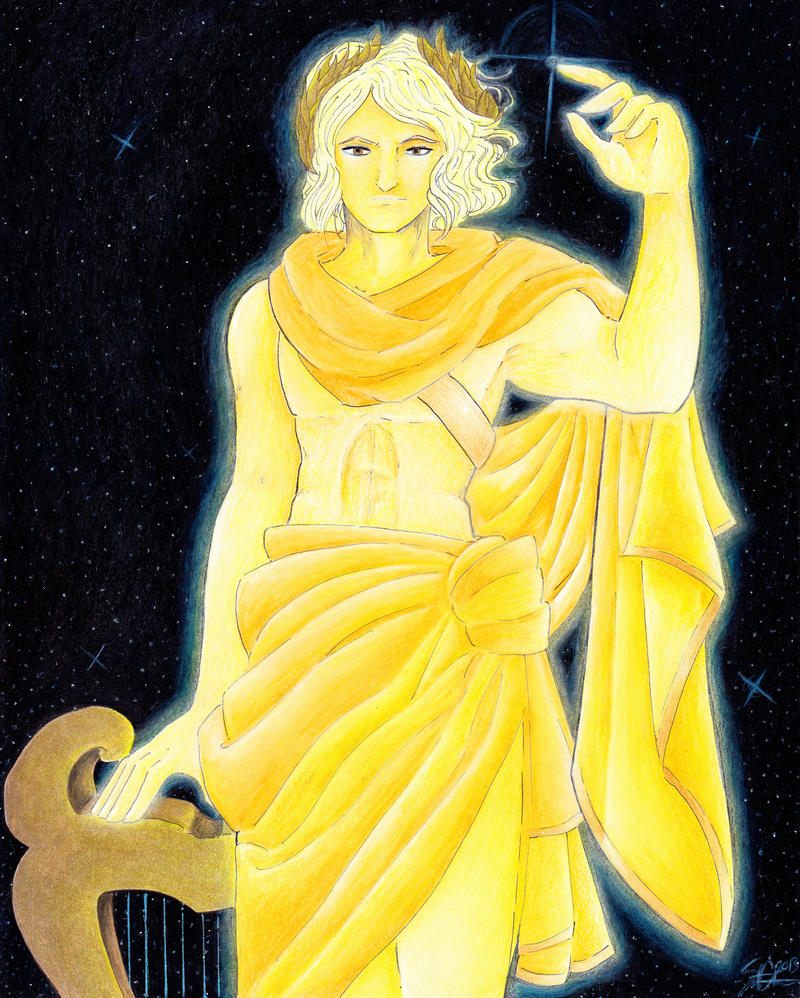 Apollo God Of Light And Music By Stephaniechateau On