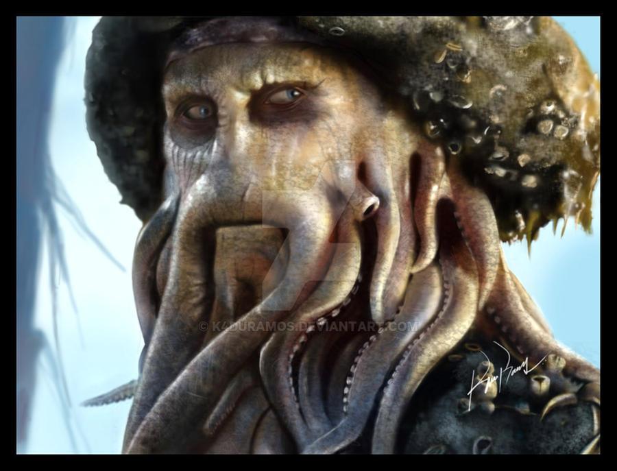 Davy Jones by K4duRamos