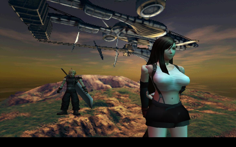 Final fantasy vii hd mod screen 1 by phoenixrising17 on deviantart - Ffviii wallpaper ...