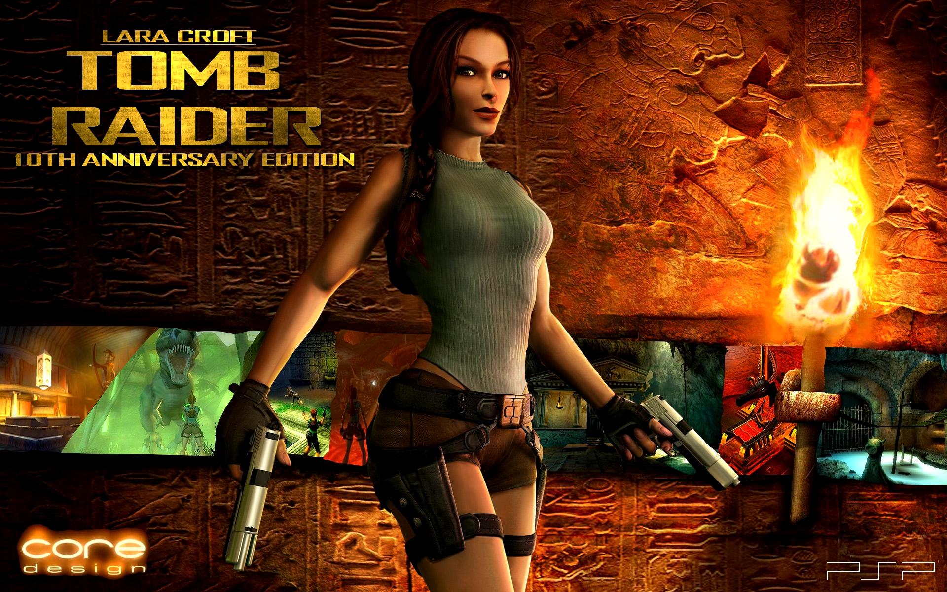 CoreDesign Tomb Raider Anniversary Edition By PhoenixRising17