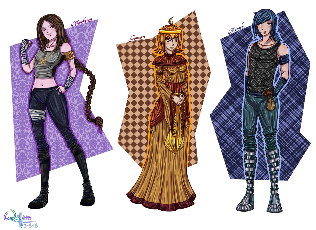 Characters 2 (Future Series)