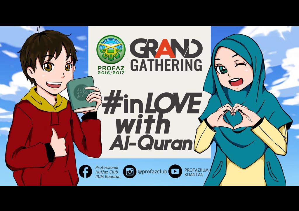 #inLOVEwithAlQuran by faizahfaizar