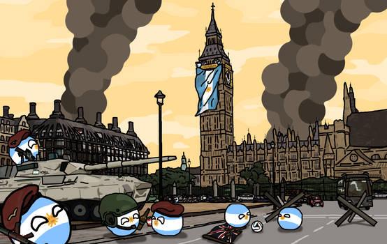 Polandball: Las (Islas) Britanicas son Argentinas!