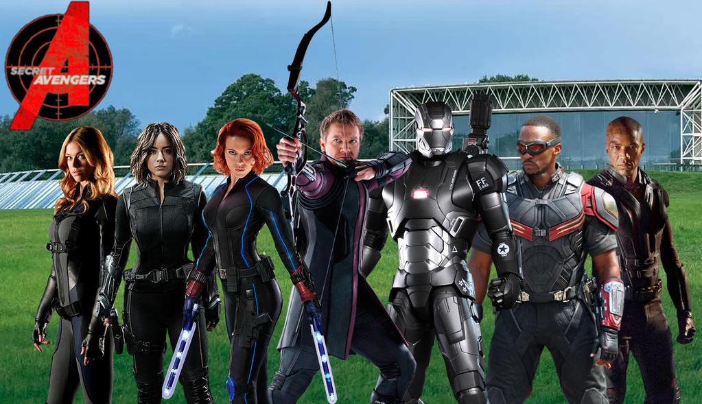 Guardians of the Galaxy VS MCU Secret Avengers ...