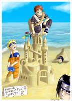 Naruto: Sandcastles by Ferntree