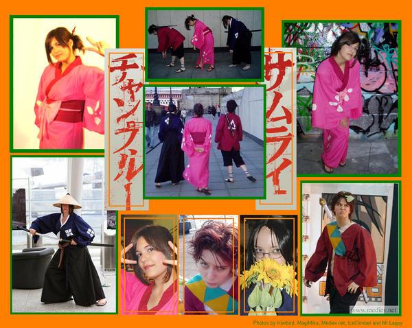 Samurai Champloo Cosplay by ravenmocara