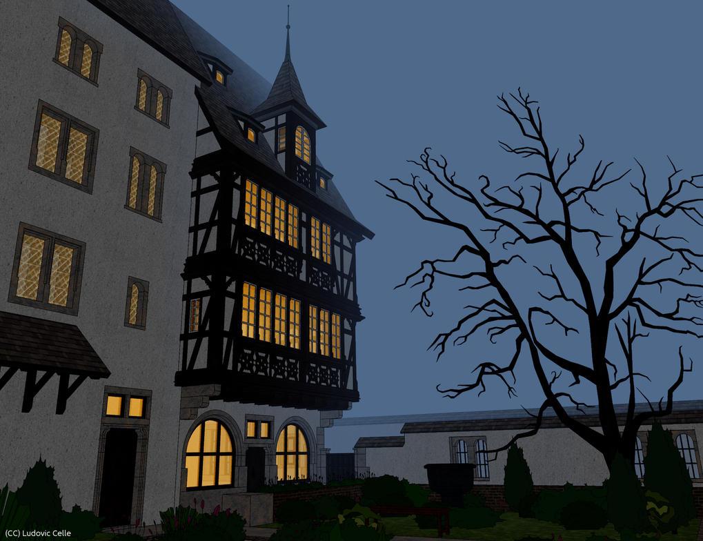 maison pans de bois finale 06 by ludo38 on deviantart. Black Bedroom Furniture Sets. Home Design Ideas