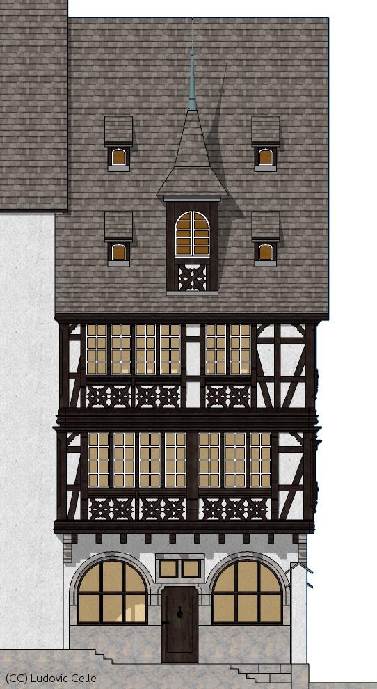 maison pans de bois finale 07 by ludo38 on deviantart. Black Bedroom Furniture Sets. Home Design Ideas