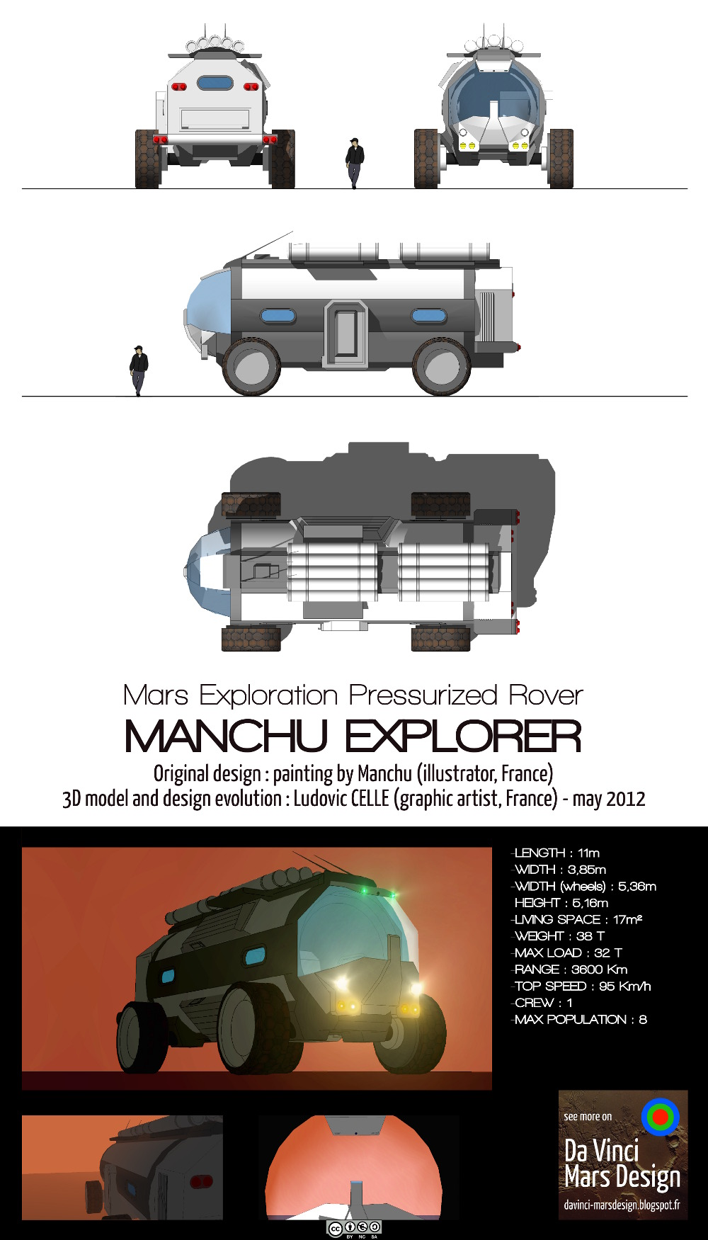 what makes the mars rover and explorer - photo #33
