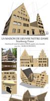Maison de l'Oeuvre Notre-Dame WIP presentation