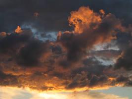 Sky of flames