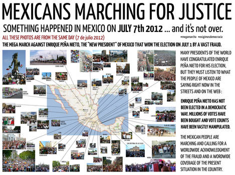 MEXICANS MARCHING FOR JUSTICE - JULY 7th 2012