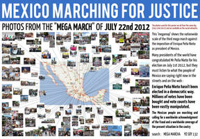 MEXICO MARCHING FOR JUSTICE - JULY 22nd 2012 by Ludo38