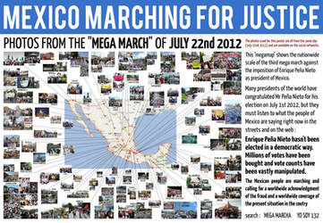 MEXICO MARCHING FOR JUSTICE - JULY 22nd 2012