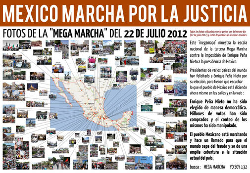 MEXICO MARCHA POR LA JUSTICIA - 22 DE JULIO 2012