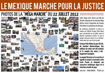 LE MEXIQUE MARCHE POUR LA JUSTICE -22 JUILLET 2012