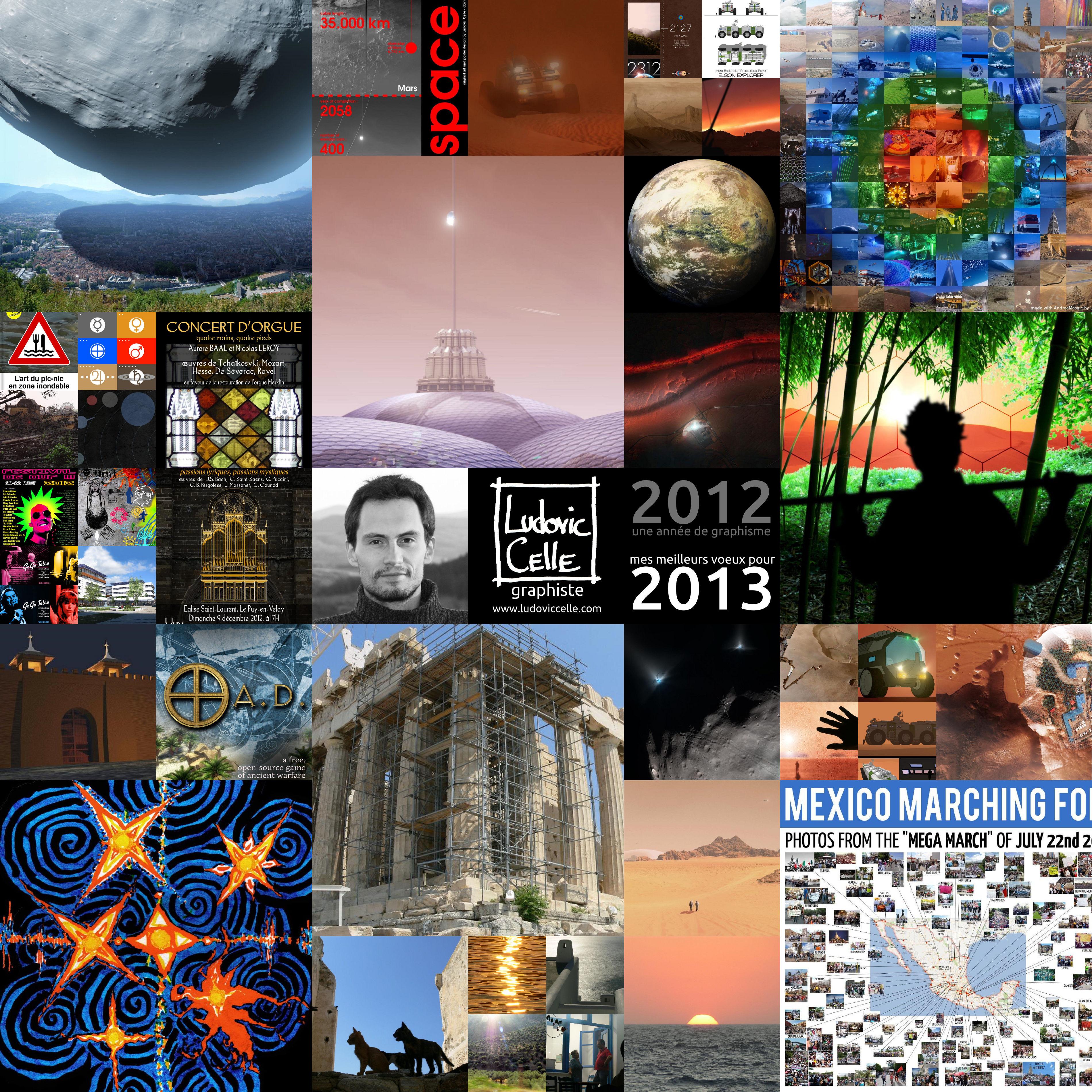 Mes meilleurs voeux pour 2013 ! (graphisme) by Ludo38