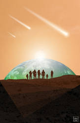 Mars Society 2013 Convention poster art