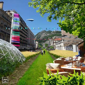 Greenoble - Horizon Jean Jaures by Ludo38