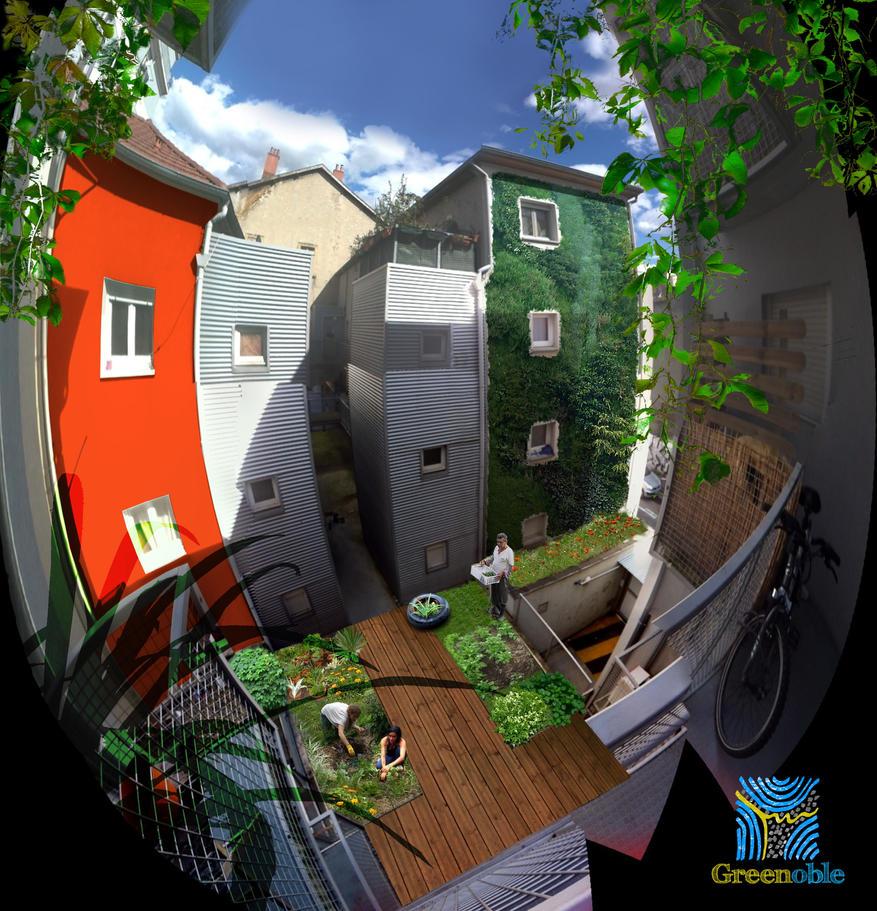 Greenoble - Horizon chez Gil by Ludo38