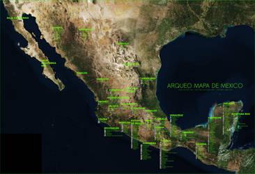 Arqueo Mapa Mexico 2017-06-13 by Ludo38