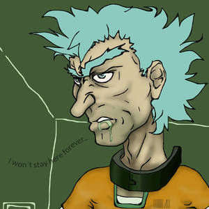 Rick In Space Jail By Sususketches