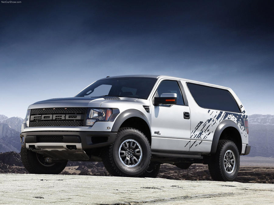 Ford Bronco SVT Raptor concept by MVTPhotography