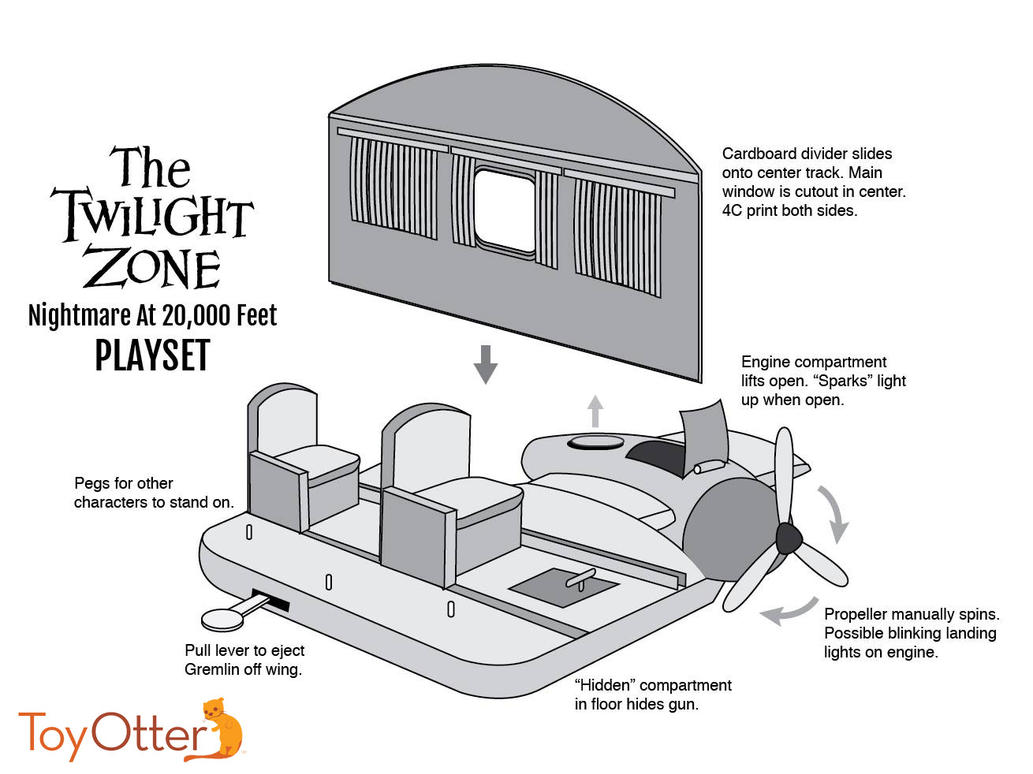 Twilight Zone Playset concept by ToyOtter