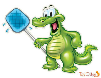 Cartoon Gator by ToyOtter