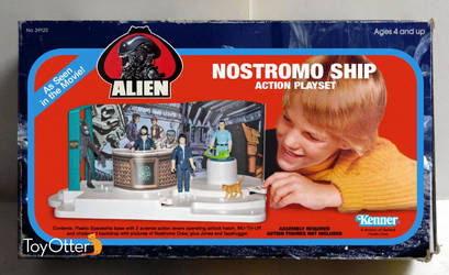 Alien Playset Concept by ToyOtter