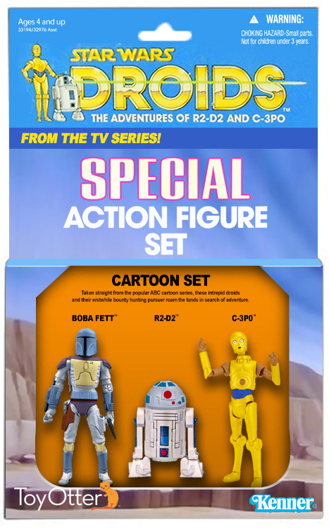 Droids 3-Pack Concept by ToyOtter
