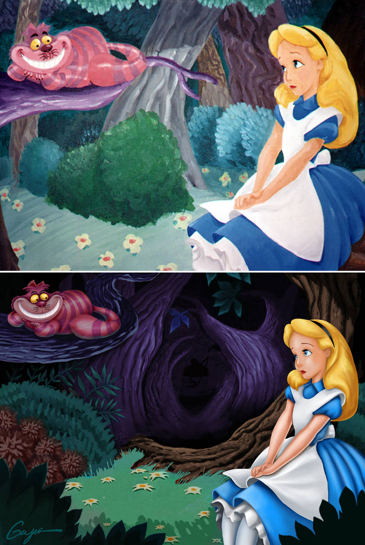 Alice in Wonderland by ToyOtter