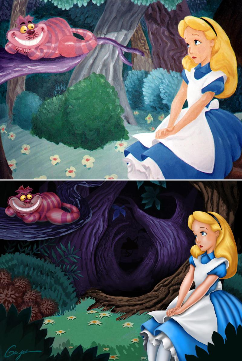 Alice in Wonderland by ToyOtter