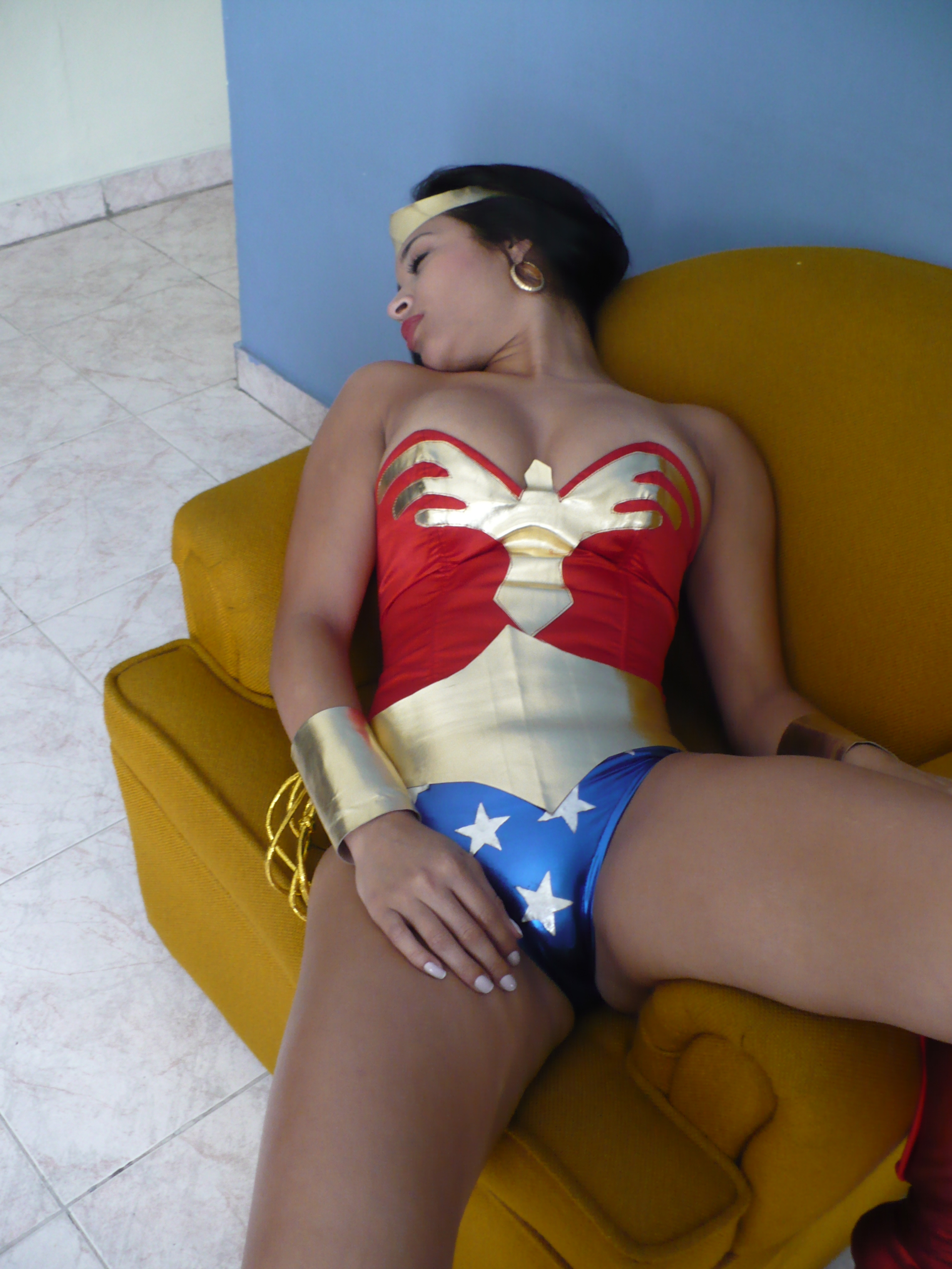 Sexy Wonder Woman: Amazon chloroformed 3 by gcsuperheroines on DeviantArt