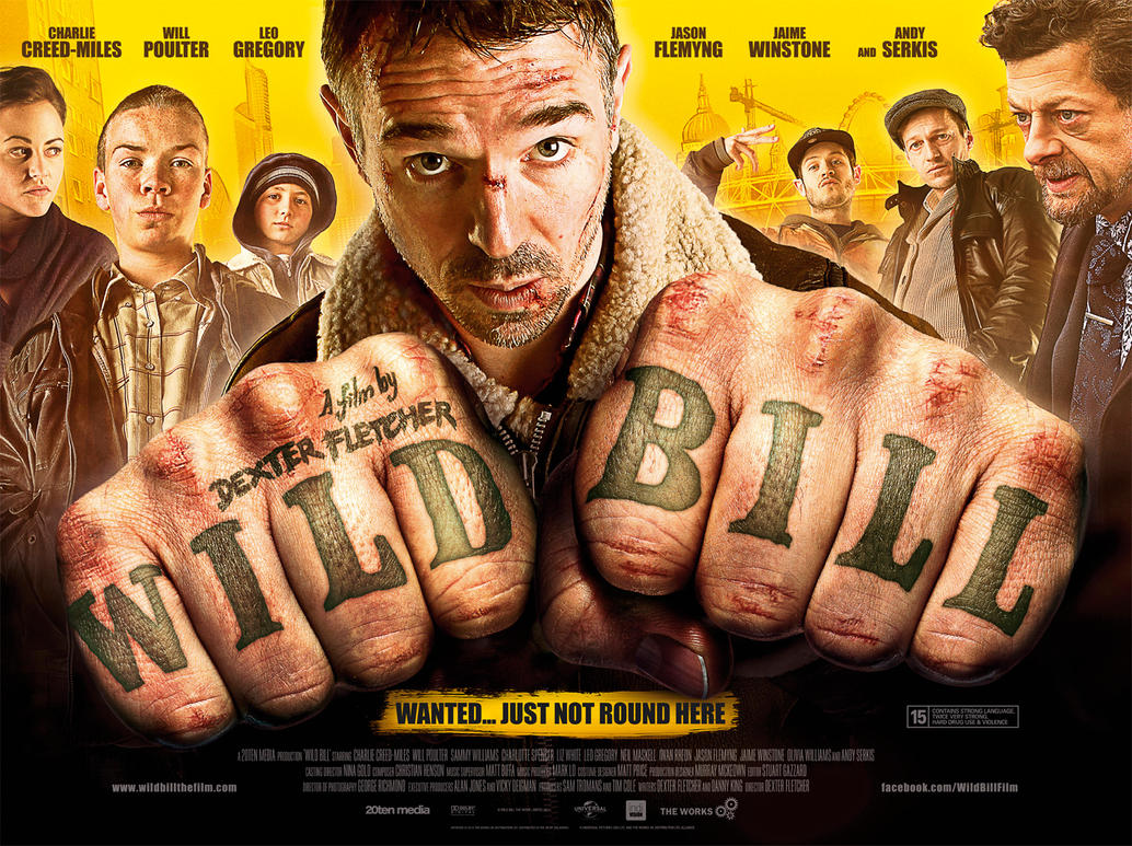 WILD BILL - movie poster by Diversionary