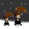 umbrella by zabaroe